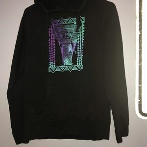 Elephant watercolor woman's hoodie